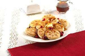 01945 Snowflake Pancake